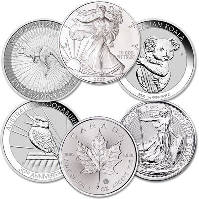 WORLD SILVER COINS - WE BUY COINS